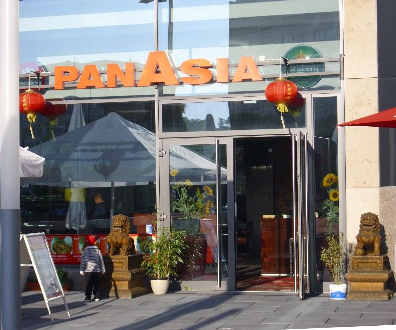 Panasia Eingangsbereich